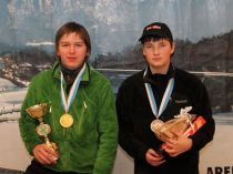U16: Michael Niedermair, Daniel Federspieler